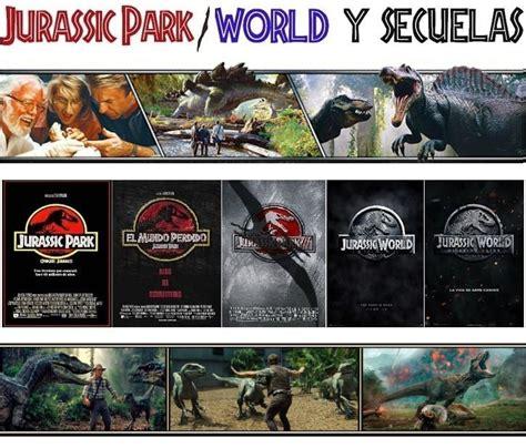 Jurassic Park: La saga que se abrió camino en nuestras ...