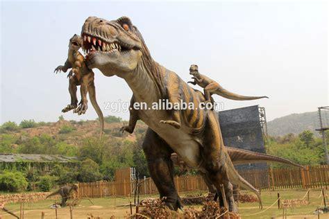 Jurassic Park Life Size Fighting T rex Dinosaur   Buy Life ...