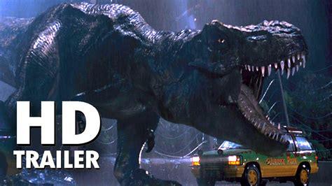 Jurassic Park  Parque Jurásico  Trailer 1993 Subtitulado ...
