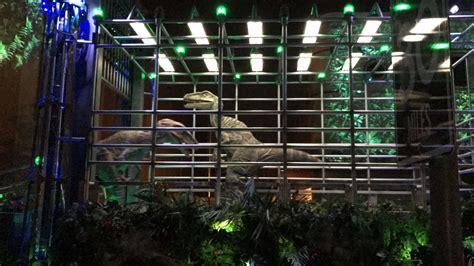 Jurassic Park Raptor Cage