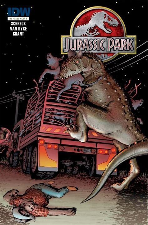 Jurassic Park: Redemption #1 – IDW Publishing