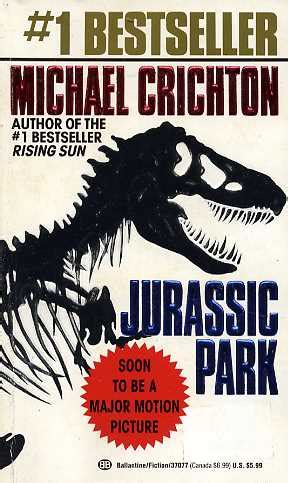 Jurassic Park Series in Order by Michael Crichton   FictionDB