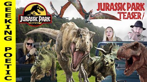 JURASSIC PARK series retrospective TEASER #1!   YouTube