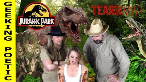 JURASSIC PARK series retrospective TEASER #2!   YouTube