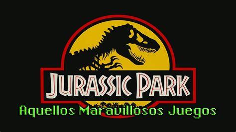 Jurassic Park   Super Nintendo   AMJ #041   Videojuegos ...