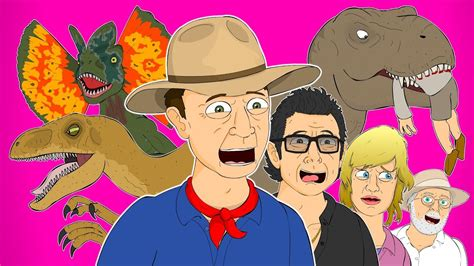 JURASSIC PARK THE MUSICAL   Animated Parody Song ...