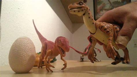 Jurassic Park Toys Velociraptor Sounds   YouTube