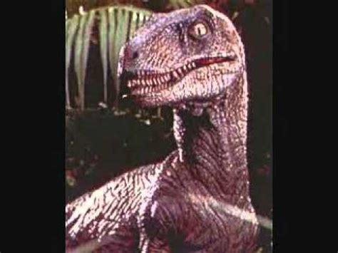 jurassic park velociraptor roars   YouTube