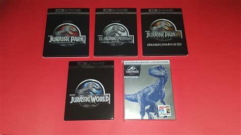 Jurassic Park/World: Mi Colección en 4K   Debate: ¿Que ...