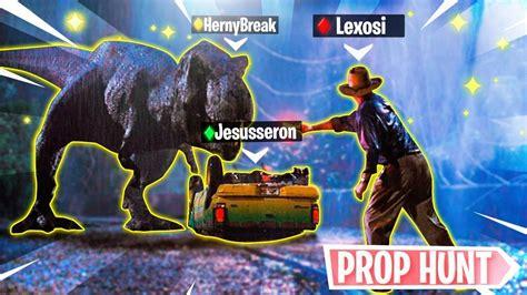 Jurassic Park World *Prop Hunt Fortnite* Nuevo Modo de ...