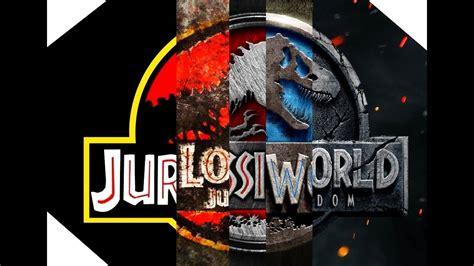 Jurassic Park / World Saga Trailers  1993 2018    YouTube