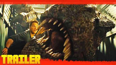 Jurassic World 2: El reino caído  2018  Nuevo Tráiler ...