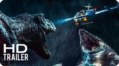 Jurassic World 2  El reino Caído  Trailers 1 al 3 ...