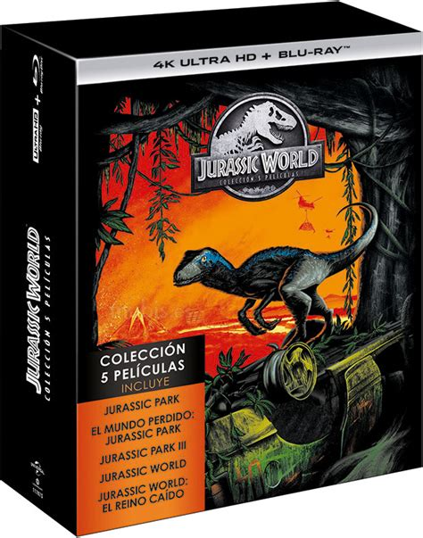 Jurassic World   Colección 5 Películas Ultra HD Blu ray