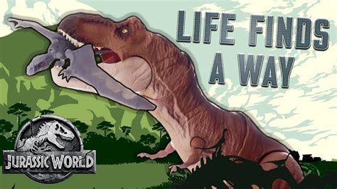 "Jurassic World Dinosaur Song: ""Life Finds a Way ..."