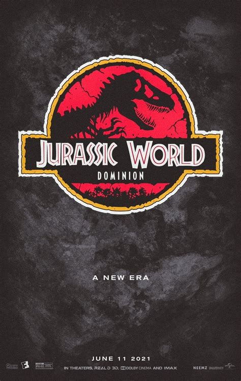 Jurassic World: Dominion  2021    Posters — The Movie ...