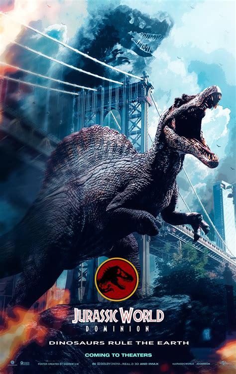 Jurassic World DOMINION Poster Spinosaurio 2021