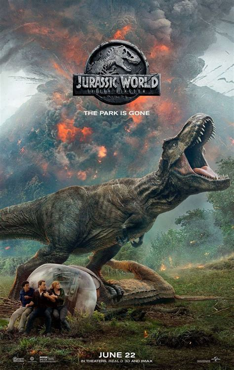 Jurassic World: El Reino Caído   Jurassic world en 2019 ...