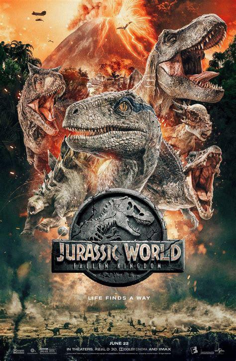 Jurassic World El Reino Caido. Nuevo Poster