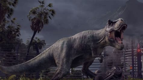 Jurassic World Evolution : Primer tráiler del nuevo ...
