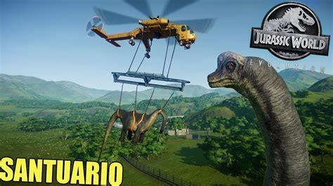 Jurassic World EVOLUTION   PROBLEMAS EN EL SANTUARIO ...