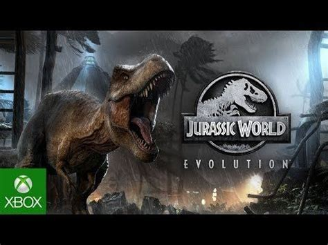 Jurassic World Evolution, the upcoming Xbox One video game ...