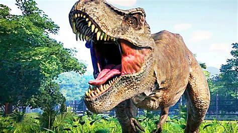 JURASSIC WORLD EVOLUTION Trailer  2018  Jeu Vidéo avec des ...