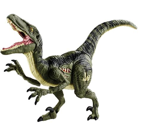 Jurassic World lights and sound raptor figure