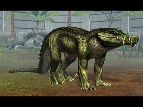 Jurassic World Nuevo Dinosaurio Kaprosuchus   YouTube
