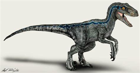 Jurassic World Velociraptor Blue by NikoRex on DeviantArt