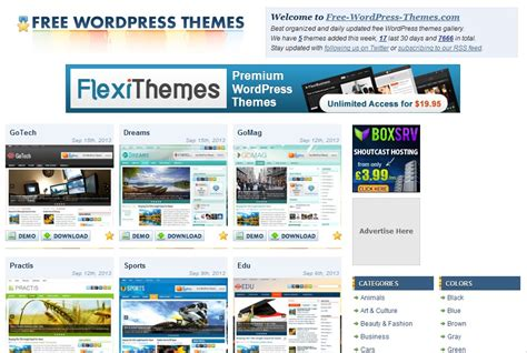 Just Sharing with U: Sites You Can Download Free WordPress ...
