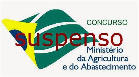 Justiça suspende concurso do Ministério da Agricultura ...
