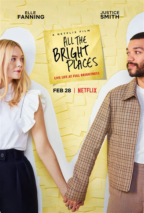 Justice Smith and Elle Fanning Star in  All The Bright Places