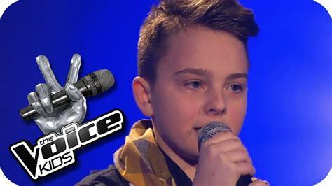Justin Bieber   Boyfriend  Mike  | The Voice Kids 2013 ...