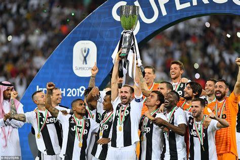 Juventus 1 0 AC Milan: Ronaldo heads winner in Super Cup ...