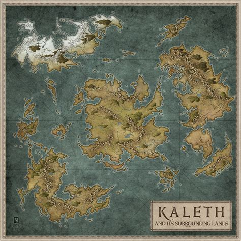 Kaleth by MaximePLASSE on deviantART | Fantasy world map ...
