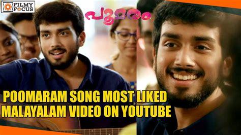 Kalidas Jayaram s Poomaram Song Becomes The Most Liked ...