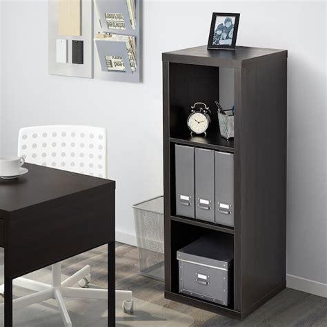 KALLAX Estantería   negro marrón   IKEA