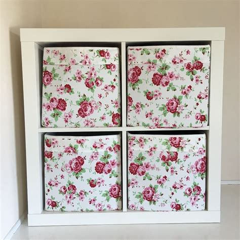 Kallax Ikea Shelving Unit with 9 Storage Boxes | in ...