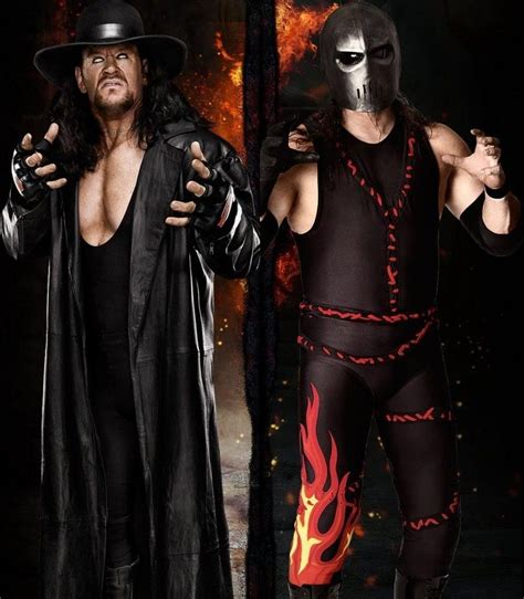 Kane and Undertaker by barrymk100 on DeviantArt ...