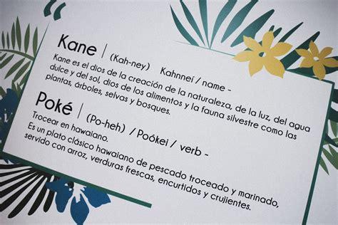 KANE POKÉ Palma * AURORA VEGA