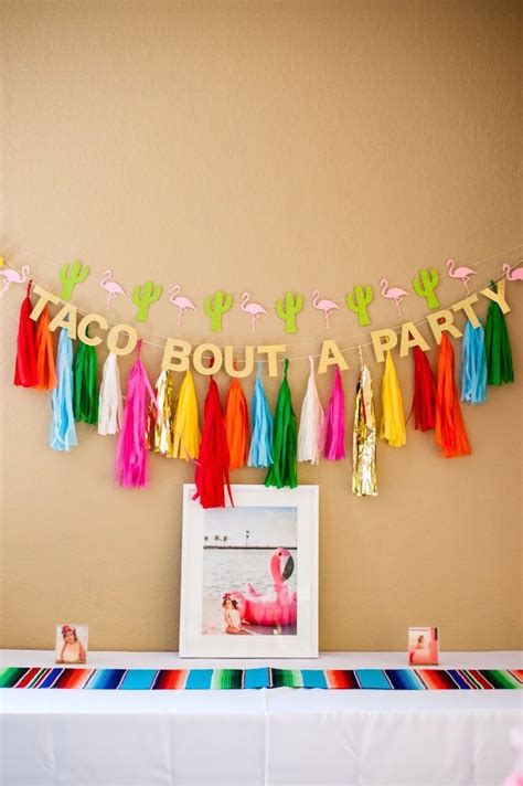 Kara s Party Ideas Cactus & Flamingo First Birthday Fiesta ...