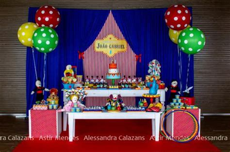 Kara s Party Ideas Circus Themed 1st Birthday Party | Kara ...
