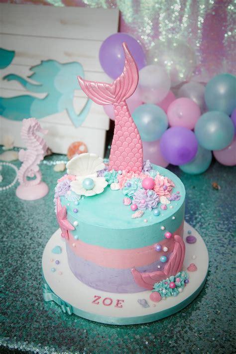 Kara s Party Ideas Shimmering Mermaid Birthday Party ...