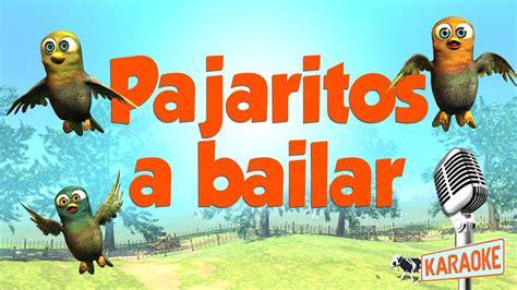 KARAOKE Pajaritos a Bailar, con letra   YouTube