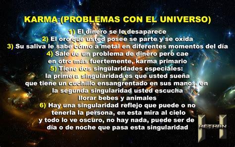 KARMA  PROBLEMAS CON EL UNIVERSO | HETHAN BY BRISSA AVHALON
