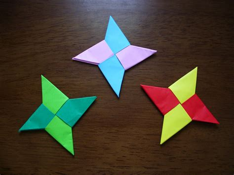 KATAKOTO ORIGAMI: How to make Origami SYURIKEN