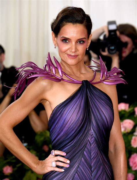 Katie Holmes Attends the 2019 Met Gala Celebrating Camp ...