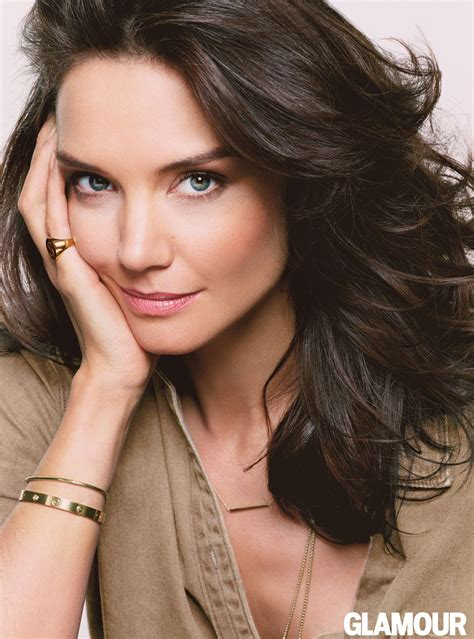 Katie Holmes  Glamour August 2014 Issue Cover Photos   Glamour