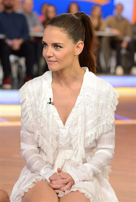 Katie Holmes   Good Morning America in NYC 3/29/2017
